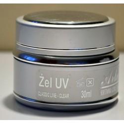 Żel UV Classic Line pink clear średnio - gęsty