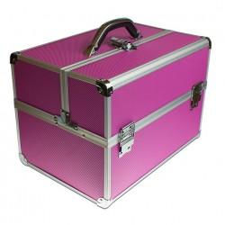 Rozkładany Kuferek Różowy Średni / Beauty Trunk Pink Medium