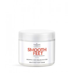 SMOOTH FEET, Grejpfrutowy peeling do stóp 690g