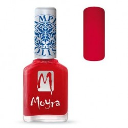 Moyra Lakier do stempli 02 Red 12 ml