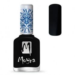 Moyra Lakier do stempli 06 Black 12 ml