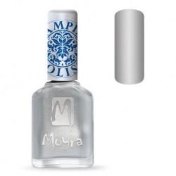 Moyra Lakier do stempli 08 Silver 12 ml