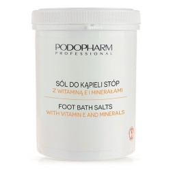 Sól do kąpieli stóp z witaminą E i minerałami