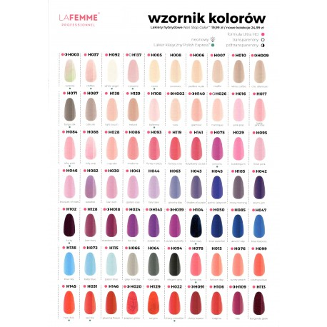 Lakiery hybrydowe Non Stop Color