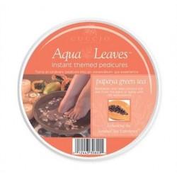 Aromatyczne liście wodne papaya i zielona herbata