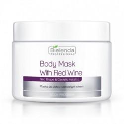 Maska do Ciała z Czerwonym Winem