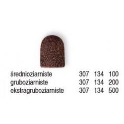 Kapki jednorazowe 10mm brązowe