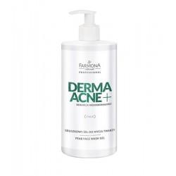 DERMAACNE + Gruszkowy żel do mycia twarzy 500ml