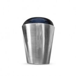 Moyra Stempel 01 - Metalowy z czarną silikonową główką