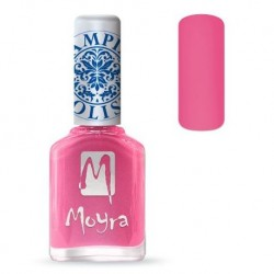 Moyra Lakier do stempli 01 Pink 12 ml