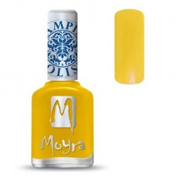 Moyra Lakier do stempli 12 Yellow 12 ml