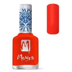 Moyra Lakier do stempli 21 Neon Red 12 ml