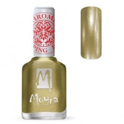Moyra Lakier do stempli 24 Chrome Gold 12 ml