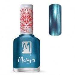 Moyra Lakier do stempli 26 Chrome Blue 12 ml