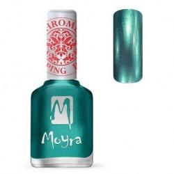 Moyra Lakier do stempli 27 Chrome Green 12 ml