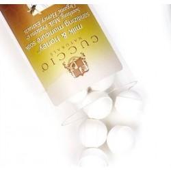 Kulki musujące do manicure miodowo - mleczne