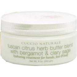 Masło z wyciągiem z bergamotki, szałwii i cytrusów